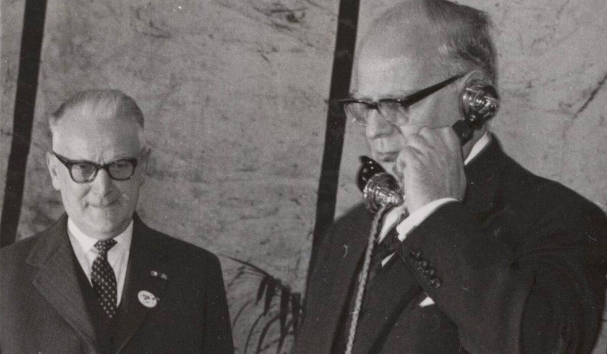 Plaatje Geschiedenis KPN Historisch Moment 1962