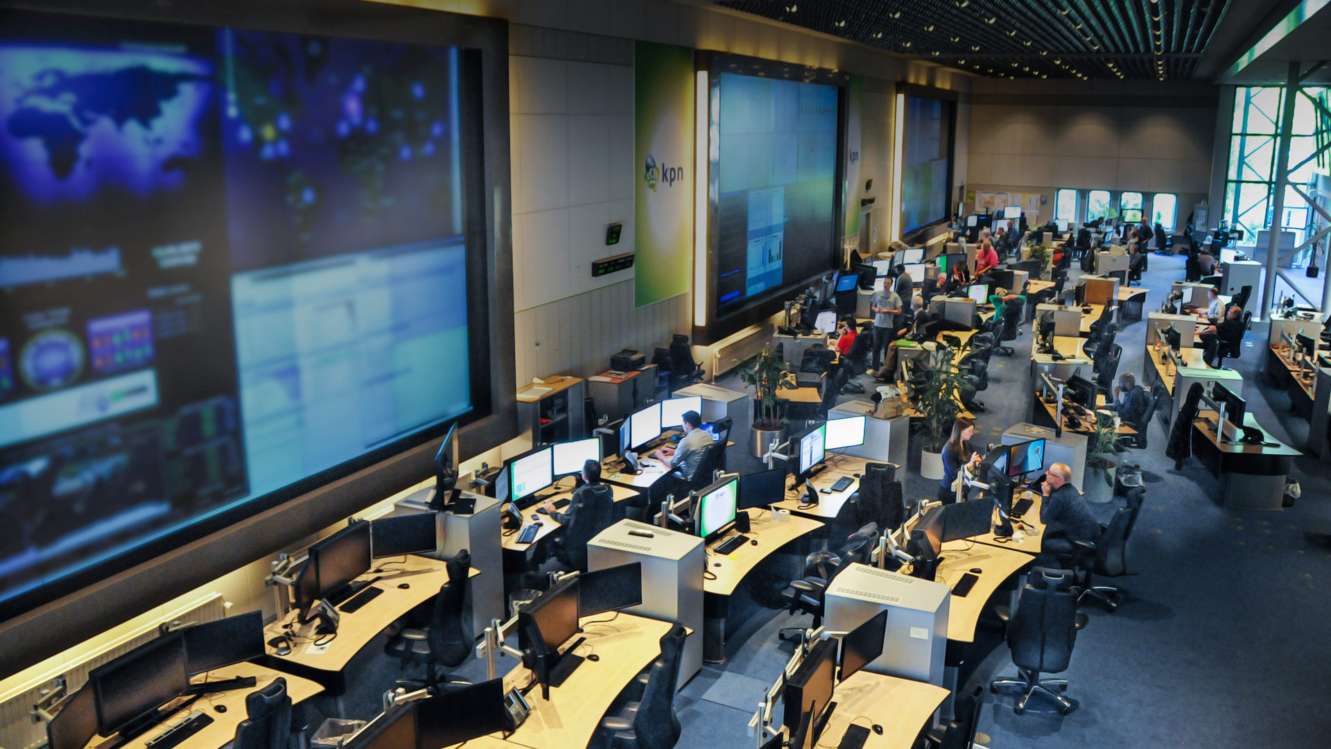 Afbeelding veiligheid Security Operations Center