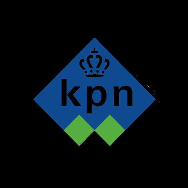 Plaatje geschiedenis  KPN logo 1998 - 2006