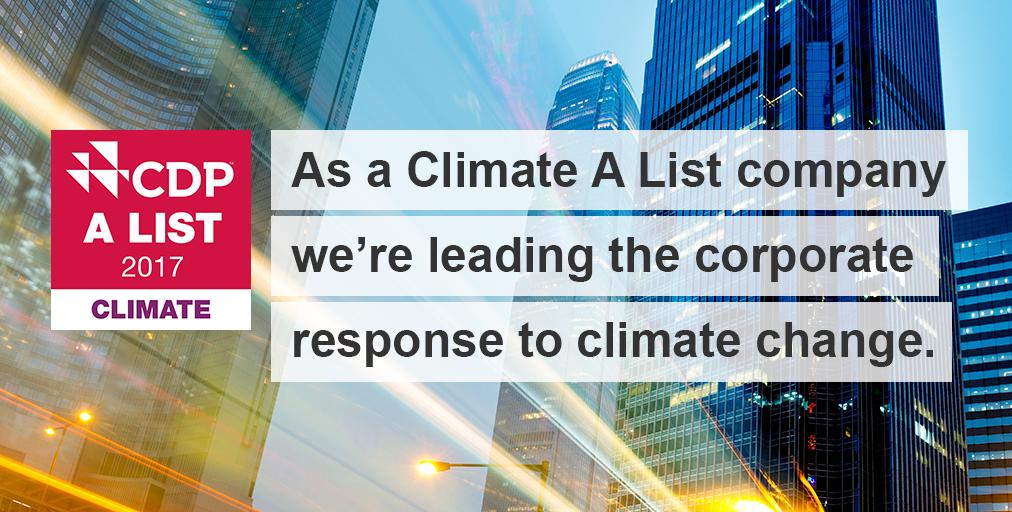 Cdp Climate A List Leader Social