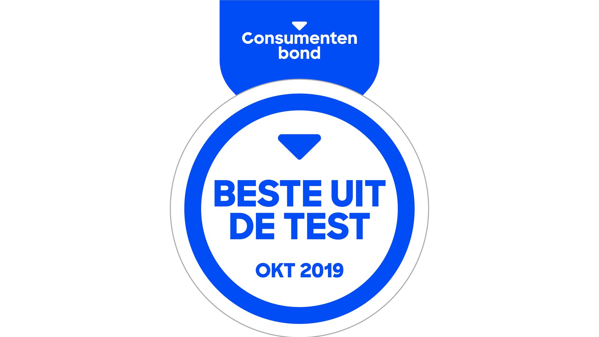 Beste uit de test oktober 2019