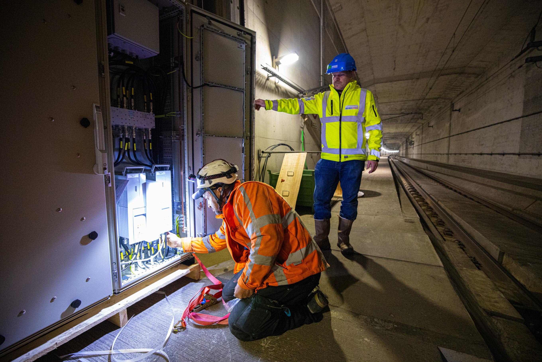 HSL Tunnel installatie mobiel netwerk foto Pro Rail Stefan Verkerk