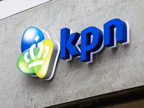 Kpn Logo Grijs Blauw