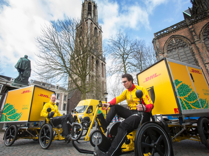 Dhl Containerfiets